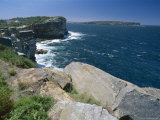View from South Head Towards North Head at the Entrance to Sydney Harbour Photographic Print by Robert Francis