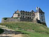 Chateau at Biron, Southwest of Bergerac, Lot-Et-Garonne, Aquitaine, France Photographic Print by Robert Francis