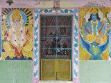 Hindu Temple, Mcleod Ganj, Dharamsala, Himachal Pradesh State, India Photographic Print by Jochen Schlenker