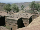 Rock-Cut Christian Church, Lalibela, Unesco World Heritage Site, Ethiopia, Africa Photographic Print by Sybil Sassoon
