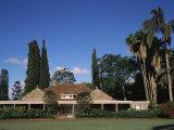 The House of Karen Blixen (Isak Dinesen), Suburbs, Nairobi, Kenya, East Africa, Africa Fotoprint van Storm Stanley