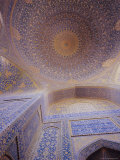 Masjid-E-Iman Mosque (Imam Mosque) (Masjed-E Emam), Formerly Shah Mosque, Isfahan (Esfahan), Iran Photographic Print by Robert Harding