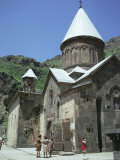 Geghard Monastery, Unesco World Heritage Site, Armenia, Central Asia Photographic Print by Sybil Sassoon