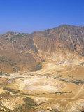Stefanos Crater and Mountains, Nisyros (Nisiros) (Nissyros), Dodecanese Islands, Greece Photographic Print by Marco Simoni