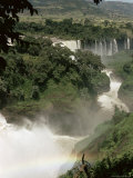 Tis Isat Falls on the Blue Nile, Ethiopia, Africa Photographic Print by Sybil Sassoon
