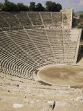 The Theatre, Epidauros, Unesco World Heritage Site, Greece Photographic Print by Robert Harding