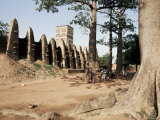 Mossi Style Mosque, Ouagadougou, Burkina Faso, Africa, Photographic Print