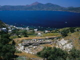 Roman Marble Theatre Near Klima, Milos, Cyclades Islands, Greece, Mediterranean Photographic Print by Marco Simoni