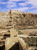 Defensive Walls of Muralla De La Hoya, Alcazaba, Almeria, Andalucia, Spain Photographic Print by Marco Simoni