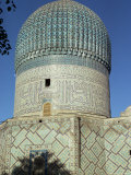 Gur Emir, Tomb of Tamerlane, Samarkand, Unesco World Heritage Site, Uzbekistan, Central Asia Photographic Print by Sybil Sassoon