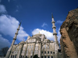 The Blue Mosque (Sultan Ahmet Mosque), Unesco World Heritage Site, Istanbul, Turkey Photographic Print by Marco Simoni