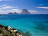 The Rocky Islet of Es Vedra from Cala d'Hort, Near Sant Antoni, Ibiza, Balearic Islands, Spain Photographic Print by Marco Simoni
