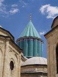Turquoise Cupola of Mevlana Museum, Konya, Anatolia, Turkey, Eurasia Photographic Print by Marco Simoni