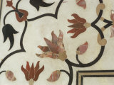 Detail of Inlay Work, Taj Mahal, Unesco World Heritage Site, Agra, India Photographic Print by Sybil Sassoon