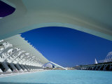 Principe Felipe Museum of Science, Architect Santiago Calatrava, Spain Photographic Print by Marco Simoni