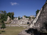 The Great Plaza, Tikal, Unesco World Heritage Site, Peten, Guatemala, Central America Photographic Print by Sybil Sassoon