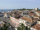 View Over Roof Tops, Old Town, Mombasa, Kenya, East Africa, Africa Photographic Print by Storm Stanley