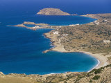 Aerial View of East Coast of Karpathos Near Lefkos, Karpathos, Dodecanese Islands, Greece Photographic Print by Marco Simoni