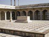 The Tomb of Akbar the Great, Sikandra, Agra, Uttar Pradesh, India Photographic Print by Robert Harding