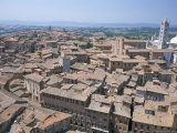 Siena, Unesco World Heritage Site, Tuscany, Italy Photographic Print by Adam Swaine