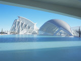 Hemisferic and Principe Felipe Science Museum, City of Arts and Sciences, Valencia, Spain Photographic Print by Marco Simoni