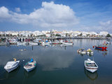 View Lagos Harbour and Town, Lagos, Western Algarve, Algarve, Portugal Photographic Print by Marco Simoni