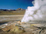 El Tatio Geyser, Atacama, Chile, South America Photographic Print by R Mcleod