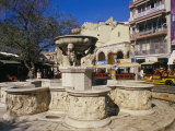Morosini Fountain on Plateia Venizelou, Iraklion (Heraklion), Island of Crete, Greece Photographic Print by Marco Simoni