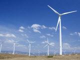 Windmills, Tarifa, Costa De La Luz, Cadiz Province, Andalucia (Andalusia), Spain Photographic Print by Marco Simoni