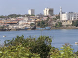 Old Town on the Island in Background, Mombasa, Kenya, East Africa, Africa Photographic Print by Storm Stanley