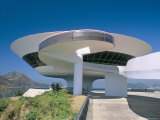 Contemporary Art Museum, Niteroi, Rio De Janeiro, Brazil, South America Photographic Print by Marco Simoni