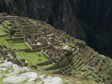 Inca Ruins, Machu Picchu, Unesco World Heritage Site, Peru, South America Photographic Print by Sybil Sassoon
