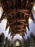 Bere Regis Parish Church Roof, Dorset, England, United Kingdom Photographic Print by R Mcleod