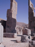 Ruins, Persepolis, Unesco World Heritage Site, Iran, Middle East Photographic Print by Robert Harding