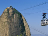 Cable Car and Pao De Acucar (Sugar Loaf), Rio De Janeiro, Brazil, South America Photographic Print by Marco Simoni