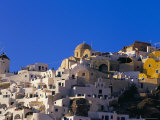 Village of Oia, Santorini (Thira), Cyclades Islands, Greece, Mediterranean Photographic Print by Marco Simoni