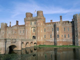 Herstmonceux Castle, Dating from 15th Century, Sussex, England, United Kingdom Photographic Print by Ian Griffiths