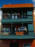 Casa De Los Balcones (Typical Canarian House with Balcony), Santa Cruz De La Palma, La Palma, Spain Photographic Print by Marco Simoni