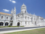 Mosteiro Dos Jeronimos, Dating from the 16th Century, Unesco World Heritage Site, Lisbon Photographic Print by Marco Simoni