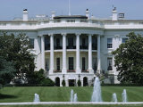 The White House, Washington Dc, USA Photographic Print by Robert Harding