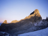 Sunrise on Batian, the Highest Peak on Mount Kenya, 5199M, Kenya, East Africa, Africa Photographic Print by Storm Stanley