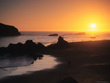 Harris Beach State Park, Brookings, Oregon, USA Photographic Print by Michael Snell