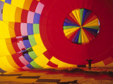 Hot Air Balloon, Albuquerque, New Mexico, USA Photographic Print by Michael Snell