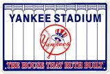 Estadio de los Yankees Cartel de chapa