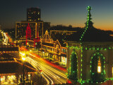 Holiday Lights, Country Club Plaza, Kansas City, Missouri, USA Photographic Print by Michael Snell