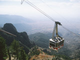 Sandia Peak Tramway, Albuquerque, New Mexico, USA Photographic Print by Michael Snell