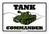 Tank Commander Plakietka emaliowana