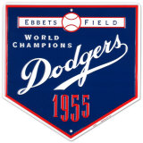 Dodgers-1955 Tin Sign