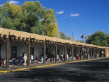 Palace of the Governors, Santa Fe, New Mexico, USA Photographic Print by Michael Snell