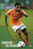 Houston Dynamo- Dwayne De Rosario Prints